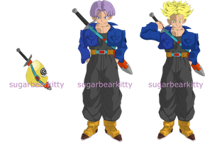 trunks evolving squiby by sugarbearkitty
