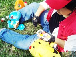 Pokemon Trainer Red by Nao-Dignity