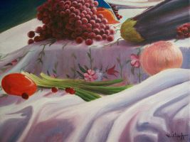 Fruits and Cloth by Sikl