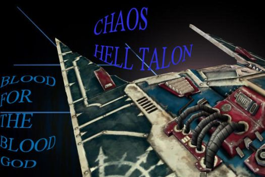 SOULSTORM: chaos hell talon by DaGrImOnE