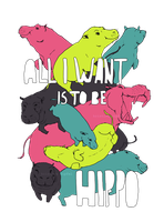all i want is to be hippo by Khanran