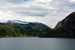 Sailing the fjords to Skjolden 34 by abelamario