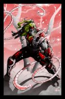 Omega Red by Miramontesart