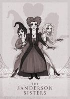 The Sanderson Sisters by ThePea