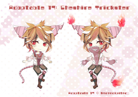 [CLOSED] Adoptable 17: Cheshire Trickster by Staccatos