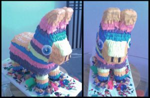 Pinata cake by Cakerific