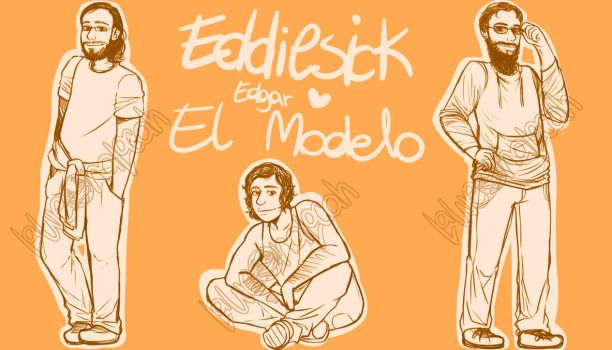 Edgar el Modelo - Work in progress by La-weona-locah