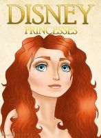DISNEY BEAUTY SHOT - Merida by johngreeko