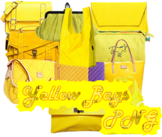 Yellow Bags PNG by JEricaM