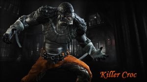 Killer Croc Wallpaper 02 by BatmanInc