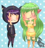 Sal and Eiko~ by oBby190