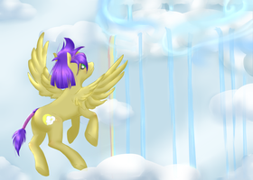 AT: In the Clouds by CrisisDragonfly