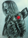 The Winter Soldier by AmbersArts