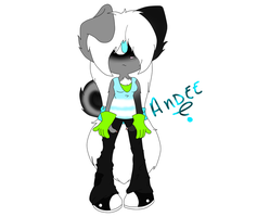 NC: Andee~ color concept by DoodleFoxx