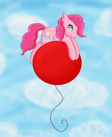 Pinkie's Flying High by DaikaLuff