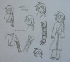 Seth Trace Concept Sketches by ShadowZyn
