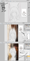 Advanced Coloring Tutorial (In Action!) by kamism