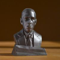 HP Lovecraft final by imagination-heart