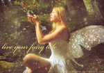 fairy in the woods by PrettyxInsane