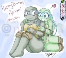 HAPPY BIRTHDAY ADRIAN by nichan