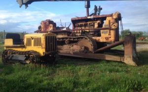 Cat 10 and a Cat D9 by Steammechanic