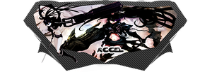 BRS - Black Rock Shooter by AccelGintoki