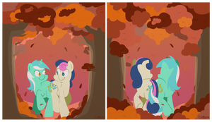 Fall Frolic (Both) by FrogAndCog