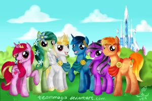 The Crystal Team by teammagix