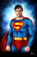 The Man of Steel by vividfury