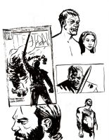 Teuton Issue 2 sketches by ADAMshoots