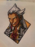Ansem - Cross Stitch by xxEmofoxdemonxx