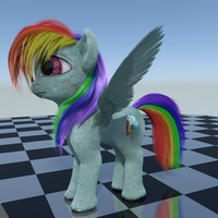 Pony Model V4.0 by beetdabrat
