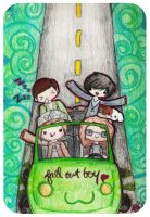 Fall Out Boy by offenderMIKU
