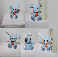 Blue Bunnies by missinsaneperson