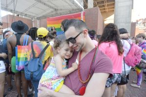 2015 Boston Pride Festival, Dancin With My Baby 2 by Miss-Tbones