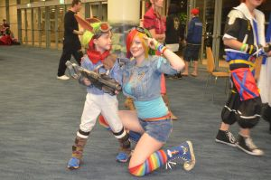 Jak and Dash - the kids champions by Rhiannon-Astraea