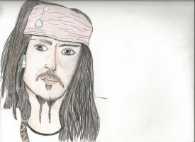 Jack Sparrow by TheLonelyMoon8