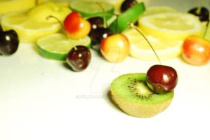Cherries and Kiwi and lemons oh my by dylan-S