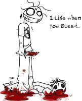 i like when you bleed by brandon123