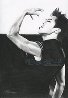 Fierce Minseok .:Commissioned:. by FallThruStardust