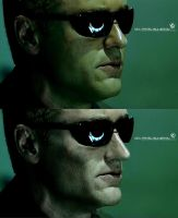How to make Wesker from worthless fat by pavel-bulgakov