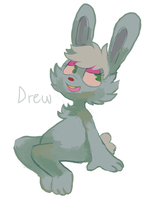 Drew by sweating