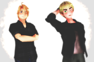 The Sexy Duo (US+UK) by Insanity-10