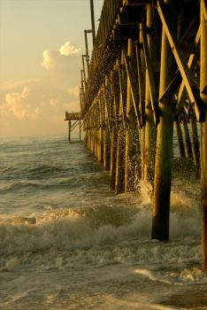 The Pier- by JTHM5000