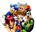 KH: Smile for the Camera, Sora by XRosewaterX