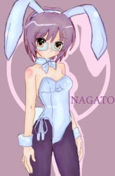Nagato Yuki by DisfunctionalKIWI