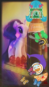 Rarity with Fanta by chainOFwings