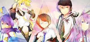 vocaloid boys by Rylitah