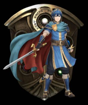Marth - Fire Emblem Warriors by SondowverDarKRose