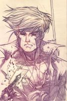 Gambit (pencils) by emmshin